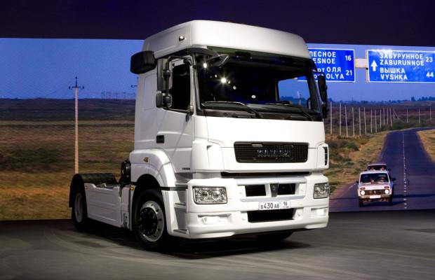 Lkw-Geschäft von Daimler in Russland auf Erfolgskurs