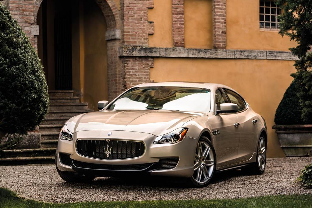 Maserati stellt seinen neuen Quattroporte vor