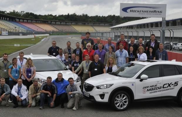 Mazda CX-5 absolviert Dauertest