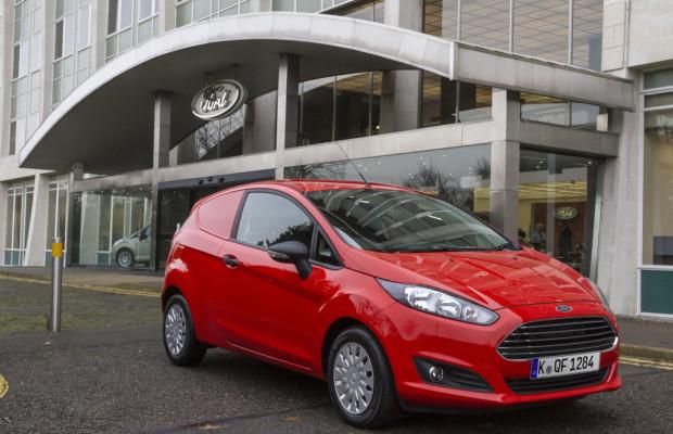 Neuer Ford Fiesta Van ab Januar bestellbar