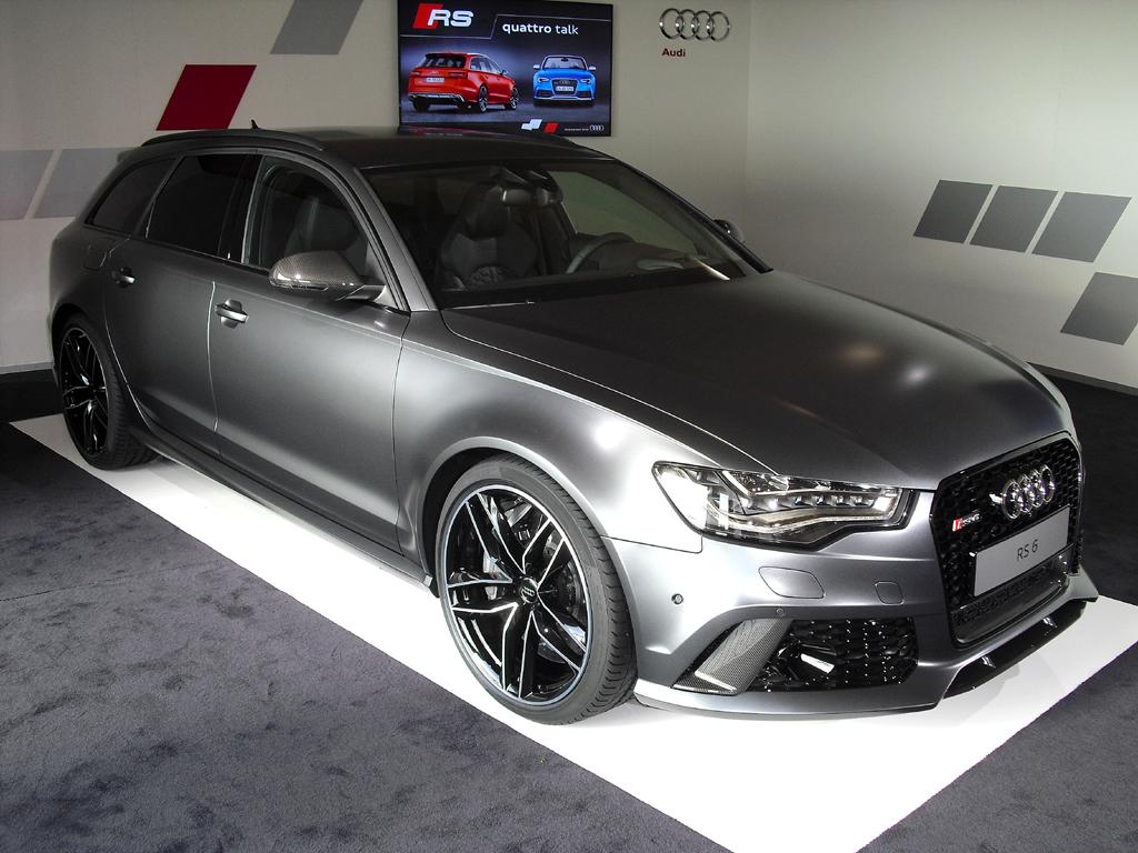 Noch vor der Weltpremiere: Audis RS6-Avant-Neuauflage.