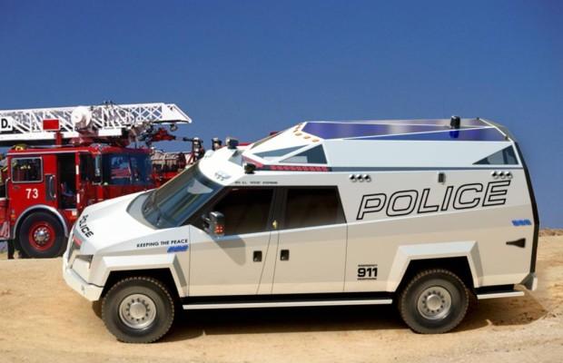 Polizeiauto Carbon TX7 - Für alle Fälle