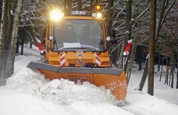 Räumdienst im Winter - Nicht jede Straße muss frei sein