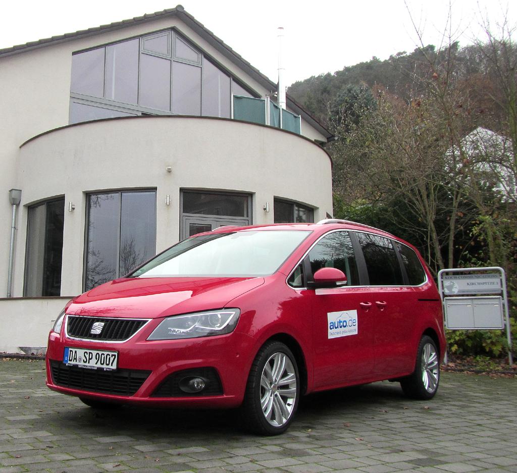 Seat Alhambra, hier als Allrad-Turbodiesel mit 103/140 kW/PS.