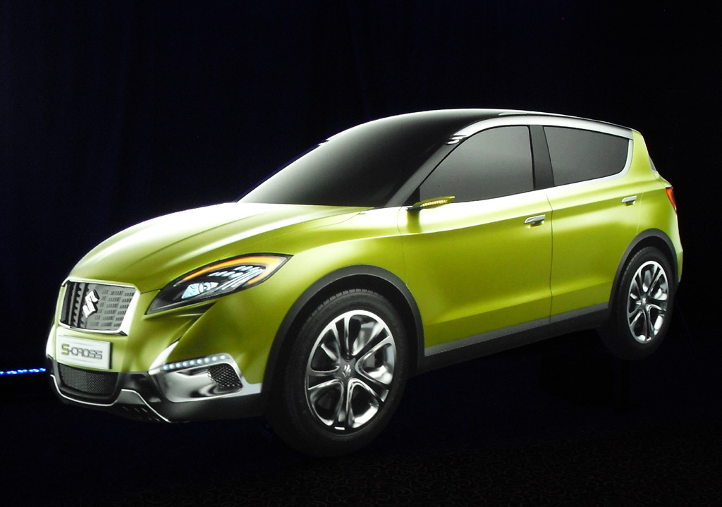 Suzuki-Studie Concept S-Cross. Fotos: Koch
