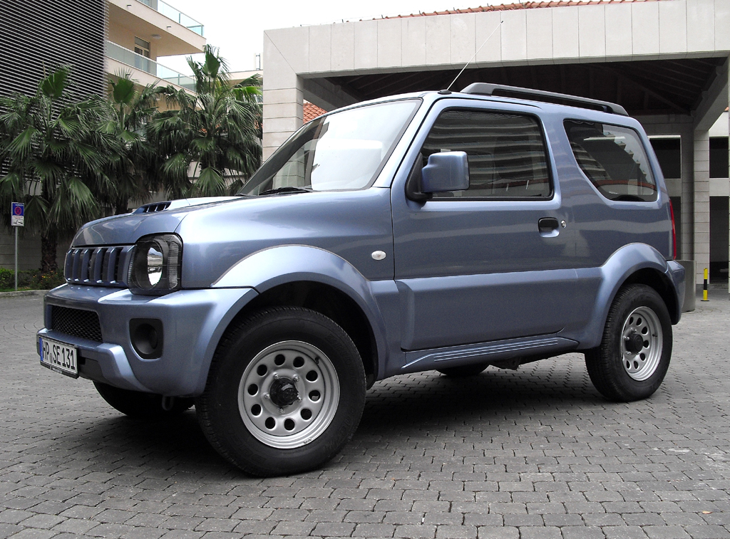 Suzuki hat seinen Jimny dezent verjüngt.
