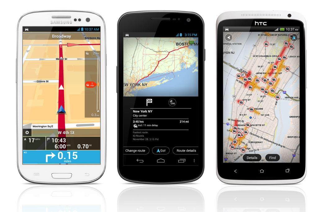 TomTom-App für Android - Breiter nutzbar