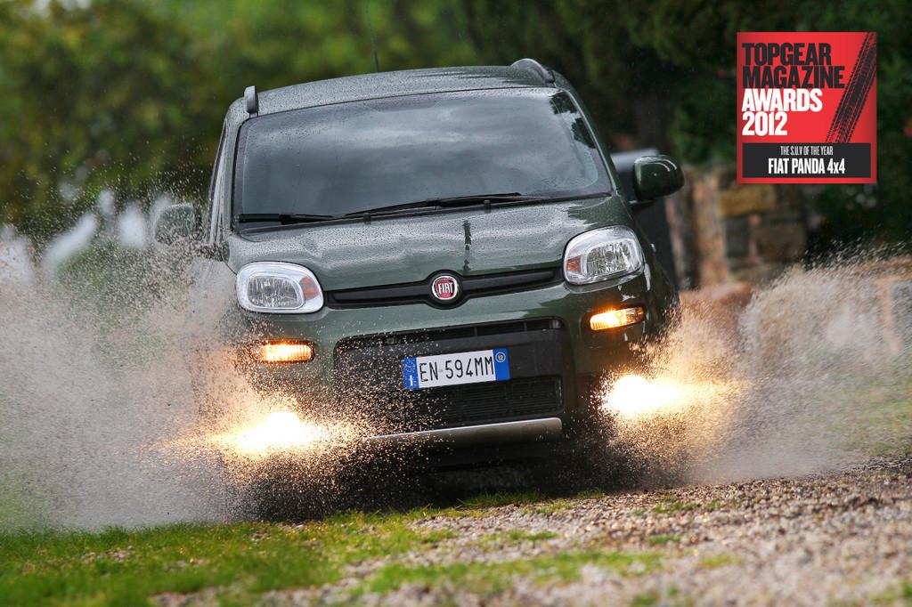 Top Gear: Fiat Panda 4x4 ist
