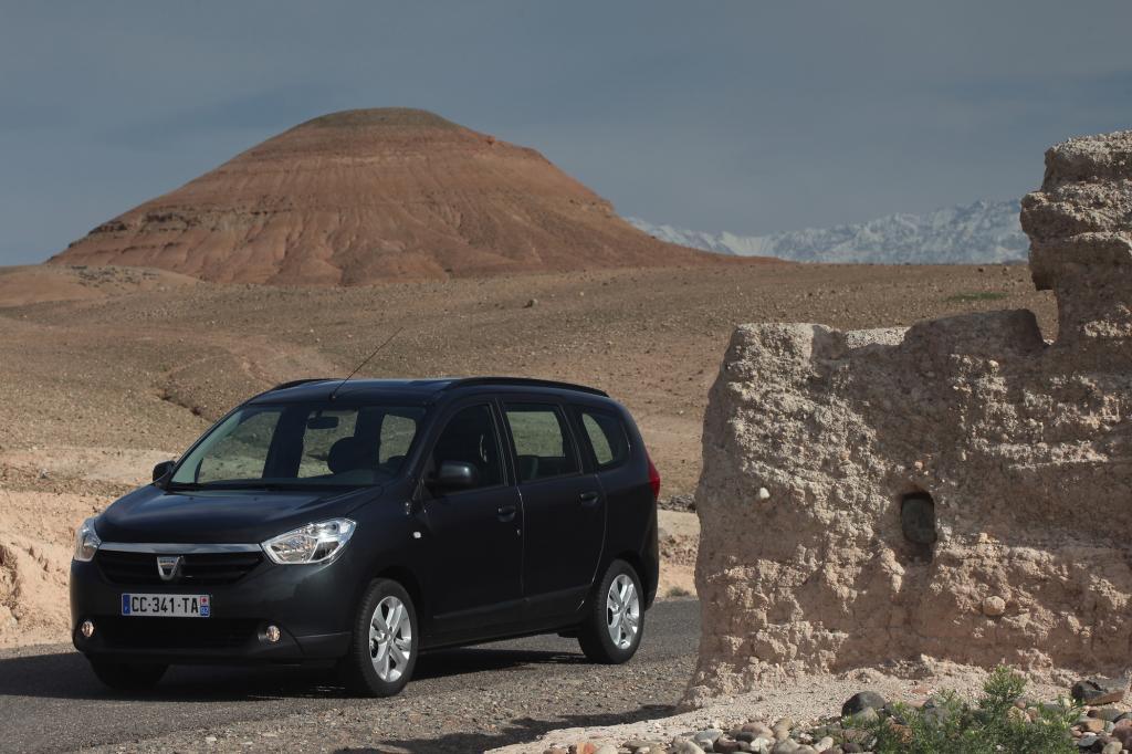 Unter den Kompakt-Vans ist der Dacia Lodgy besonders preisstabil