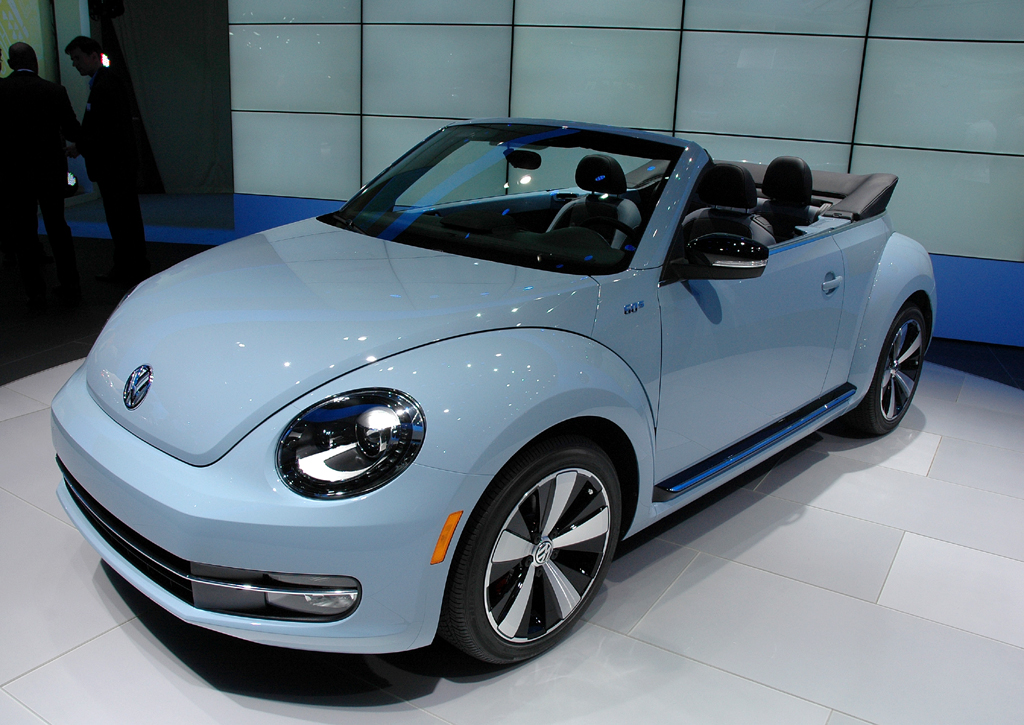 VW Beetle Cabrio: Nach dem Coupé folgt jetzt die offene Variante. Fotos: Koch