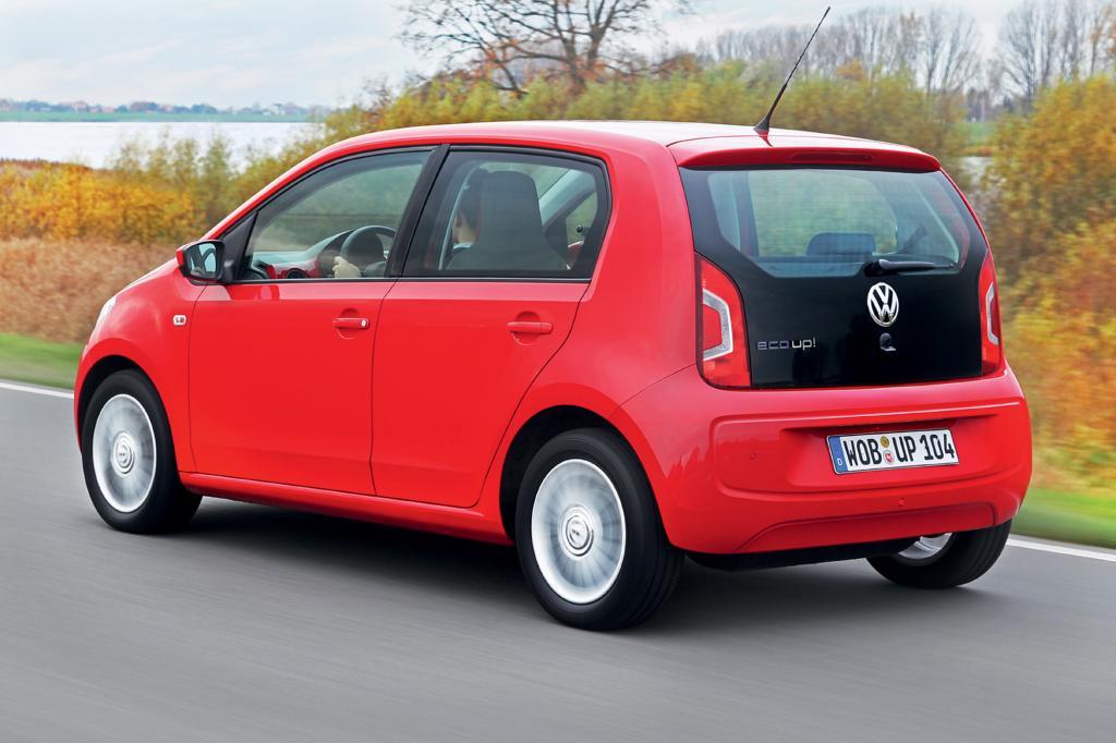 VW gewinnt mit dem erdgasbetriebenen Eco Up die Kleinstwagen-Wertung