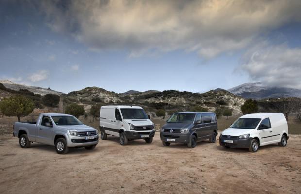 Volkswagen Nutzfahrzeuge steigert weltweite Auslieferungen