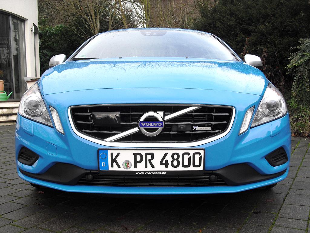 Volvo S60: Blick auf die Frontpartie.