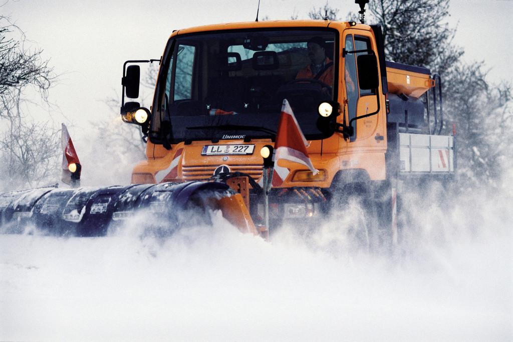 Winter hat Alpen fest im Griff