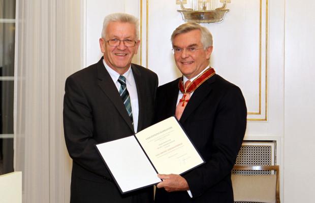 Zeidler bekommt Großes Verdienstkreuz