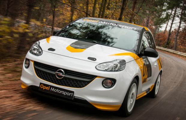 ADAC Opel Rallye Cup startet bei deutschem WM-Lauf
