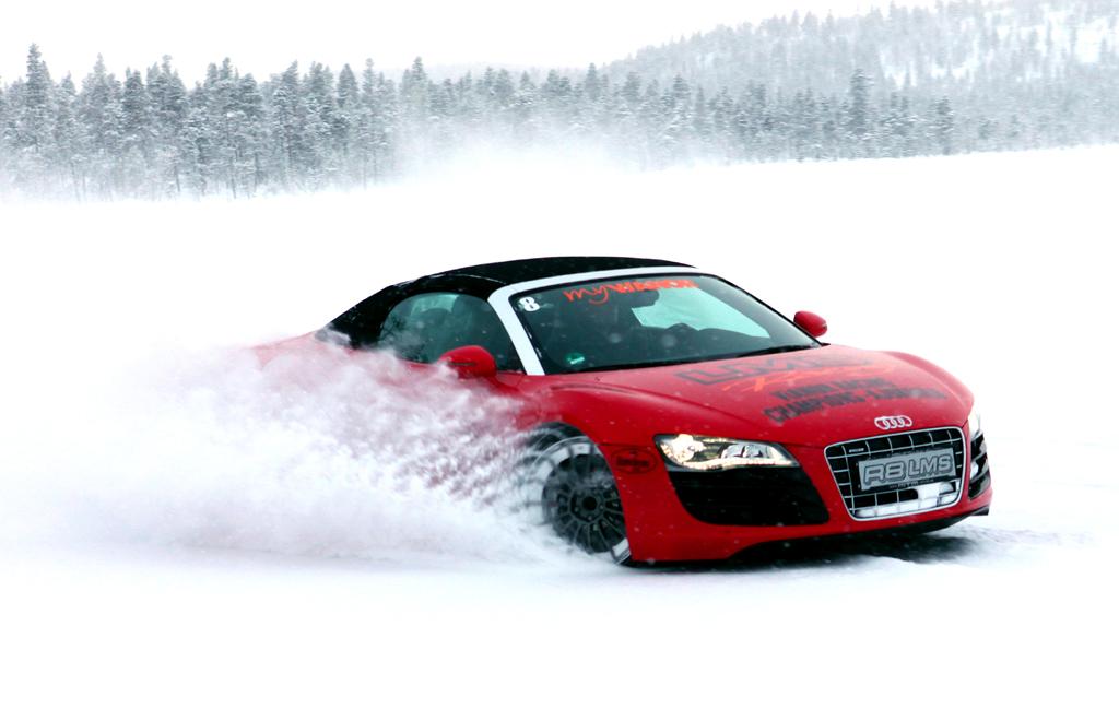 (Winter-)Reifentests finden für Nokian quasi vor der Haustür statt.