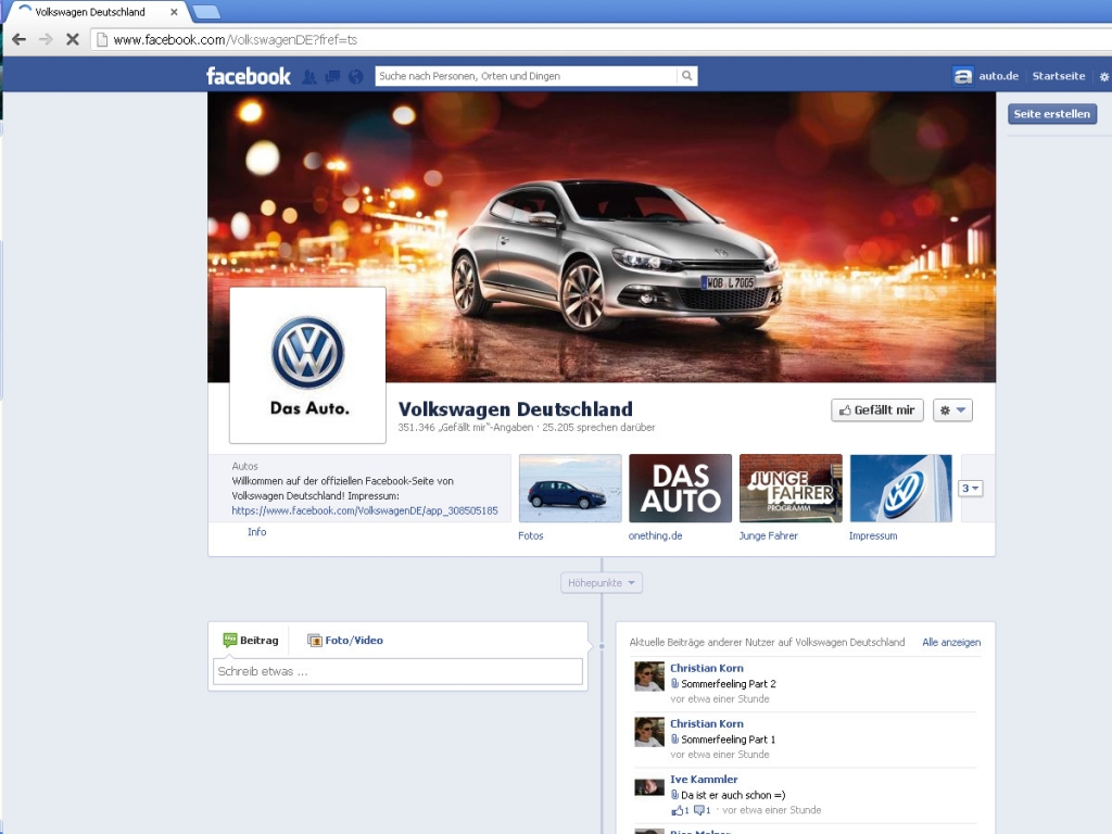 Analyse: Automobilmarken in Social-Media