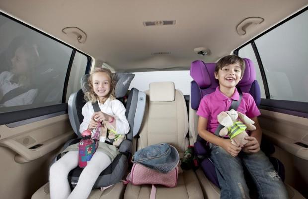 Anwendungsfehler verringern Kindersicherheit im Auto