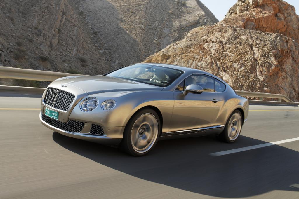Auch Bentley kann sich über einen Absatzplus freuen