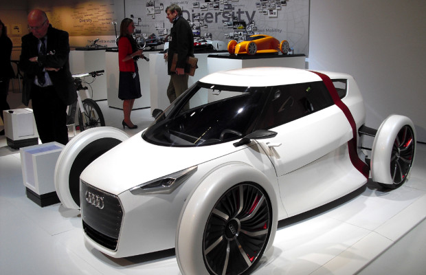 Auch Designer bei Mobilität von morgen gefordert - Beispiel Audi