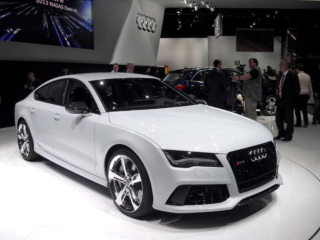Audi-Premiere in Detroit: RS7 Sportback mit 560 PS.