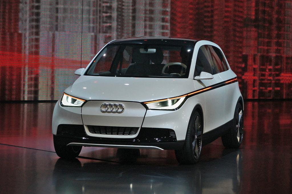 Audi arbeitet an einem Nachfolger des A2 - hier eine Studie