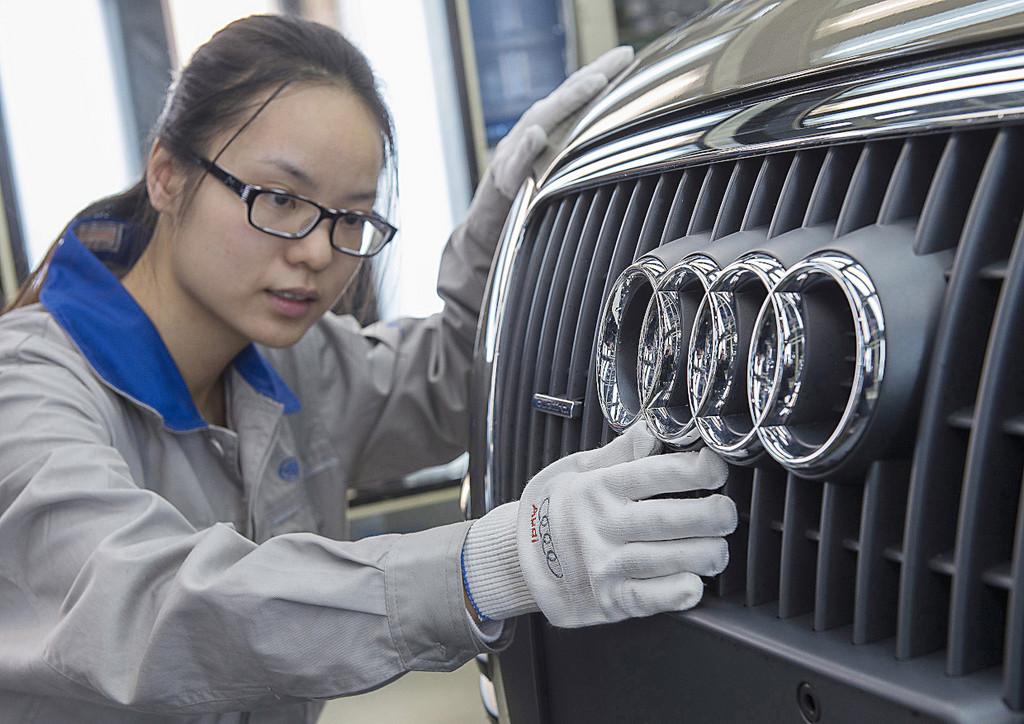 Audi lieferte erstmals über 400 000 Autos in China aus