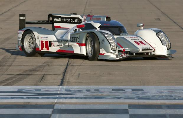 Audi startet mit zwei R18 E-tron Quattro in Sebring