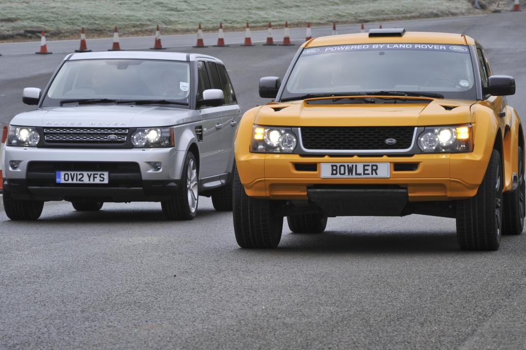 Auf dem Papier liegt vergleichsweise wenig zwischen dem Bowler und dem originalen Range Rover Sport