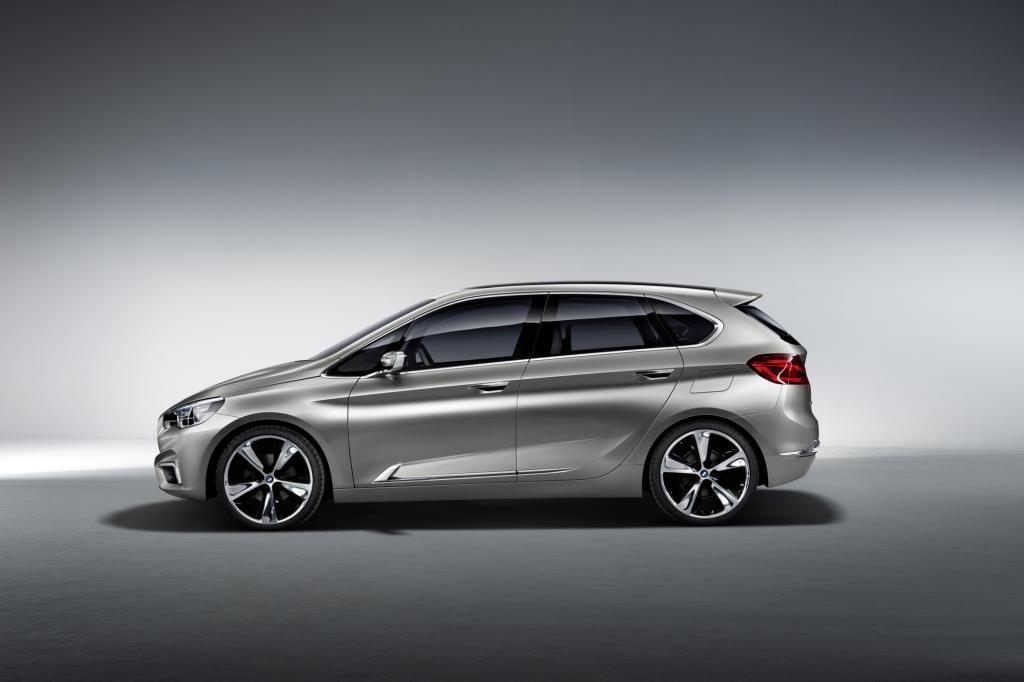 BMW plant einen van-artigen 1er-Ableger - hier die Studie Active Tourer
