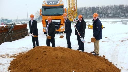 Bau der neuen DAF-Zentrale hat begonnen