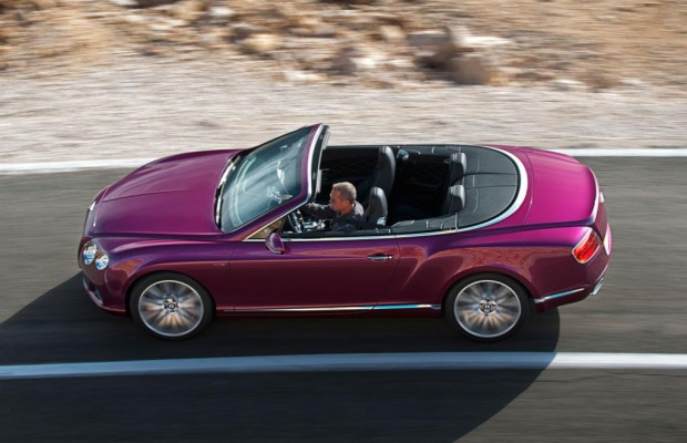 Bentley Continental GT Speed Convertible - Dach runter, Tempo rauf