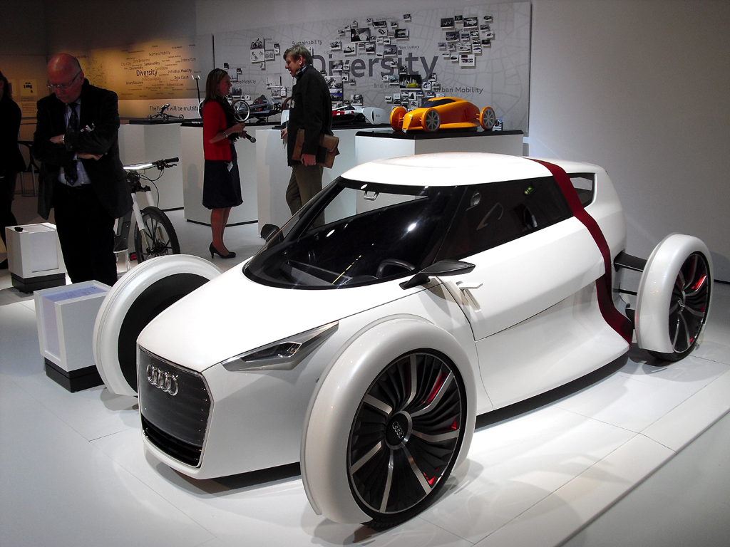 Bereits konkreter Vorschlag: Audi Urban Concept Spyder.