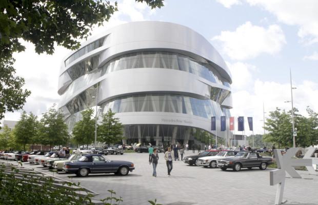 Besucherrekord im Mercedes-Benz-Museum