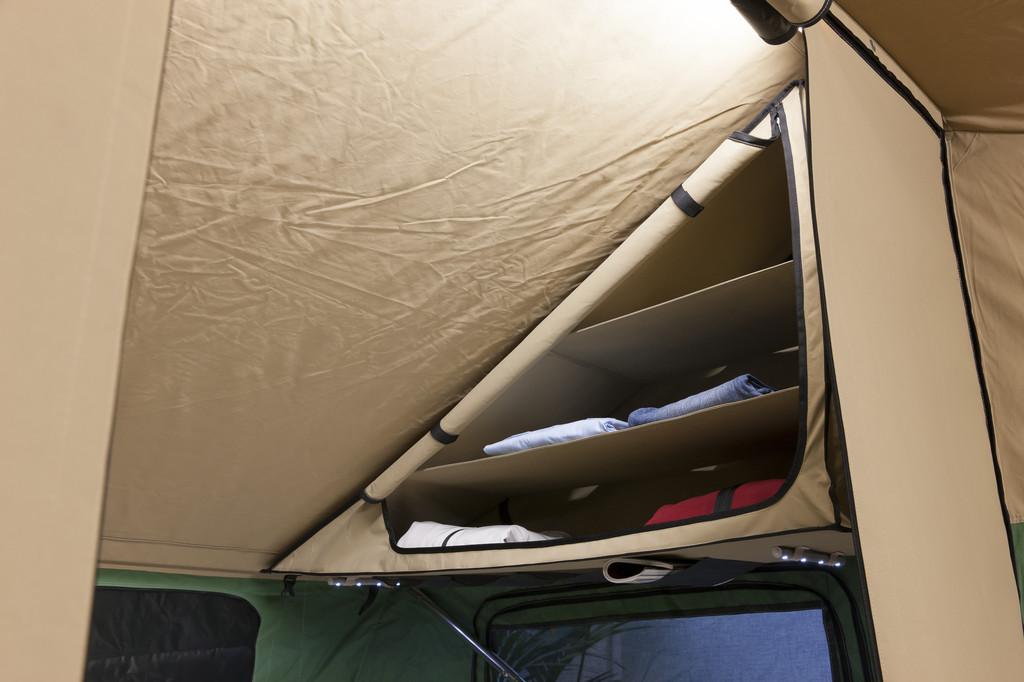 CMT 2013: 3Dog Camping präsentiert Ordnungssystem für Zelt-Anhänger