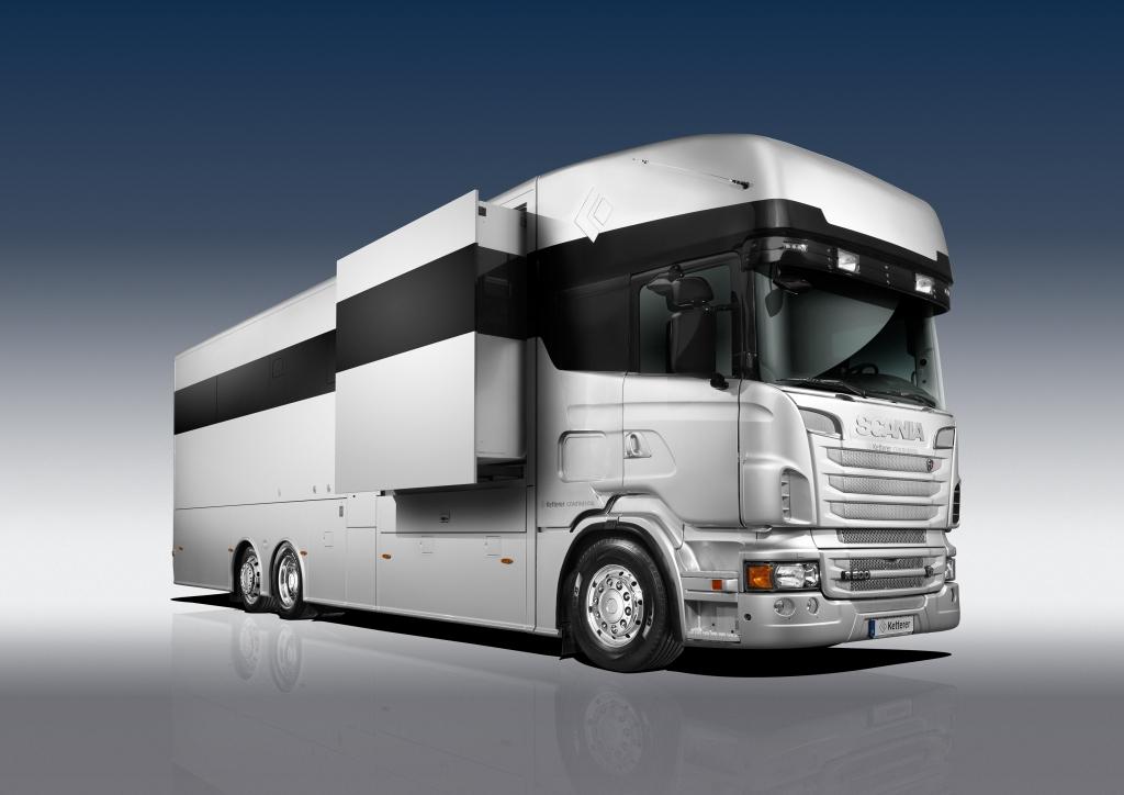 CMT 2013: Ketterer Continental präsentiert Luxus-Truck