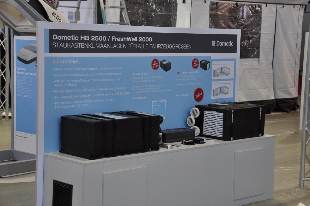 CMT Stuttgart 2013: Ausstattung und Zubehör – Von Klima bis Trinkwasserkonservierung