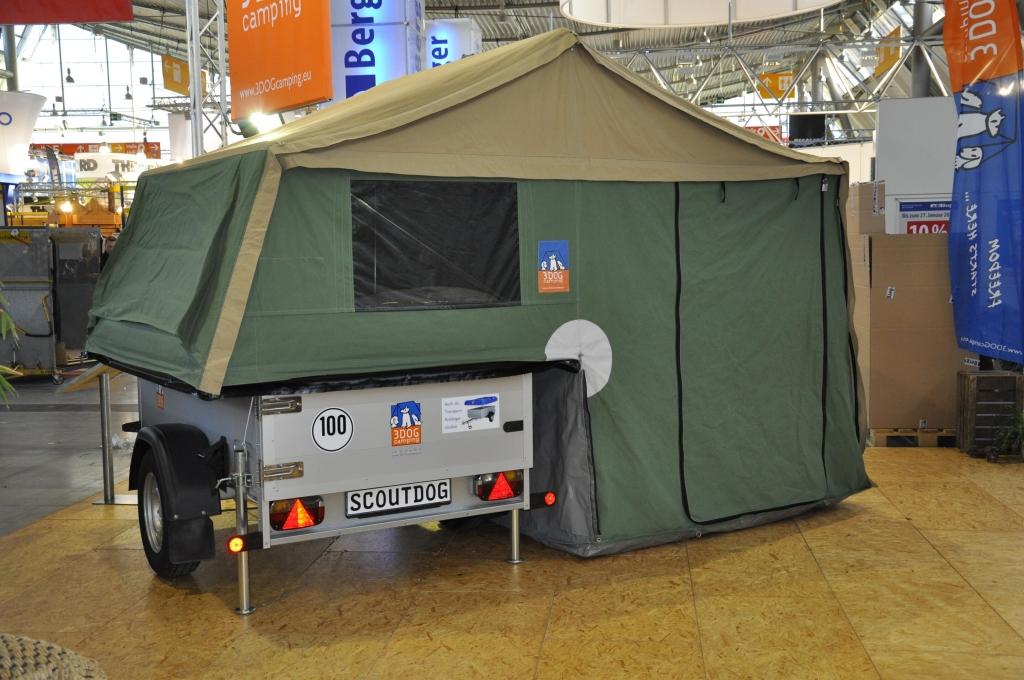 CMT Stuttgart 2013: Camper, Multifunktionsanhänger und Hubdachwohnwagen