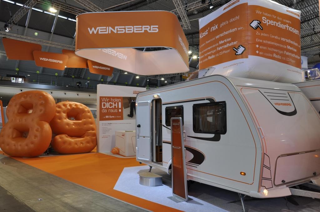 CMT Stuttgart 2013: Caravans – Flaggschiffe und praktische Wohnanhänger