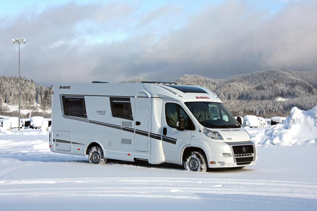 CMT Stuttgart 2013: Dethleffs Reisemobil Trend Edition und Caravan Summer Edition