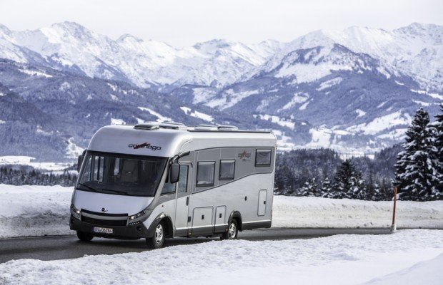 Carthago lädt zum Wintercamping in die Alpen