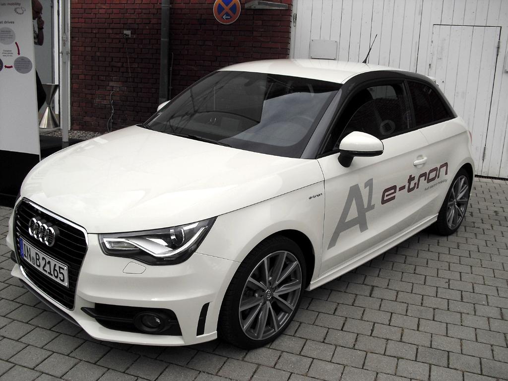 City-Kompakter mit Reichweiten-Verlängerung: Audi A1 e-tron.