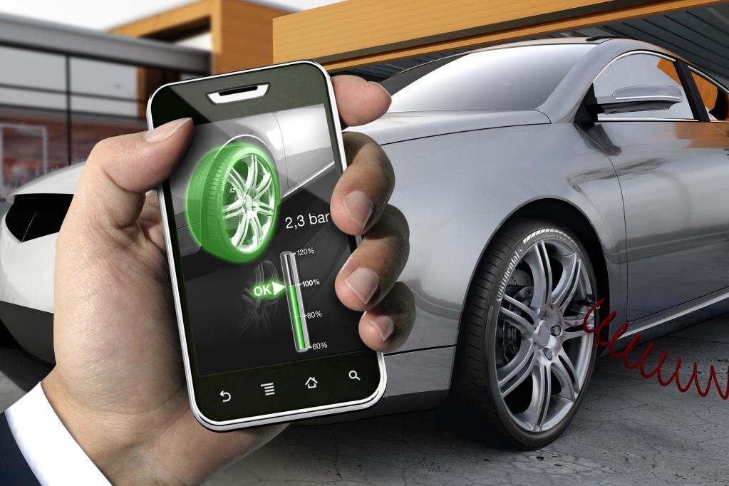 Continental erweitert Funktion von Reifendrucksensoren