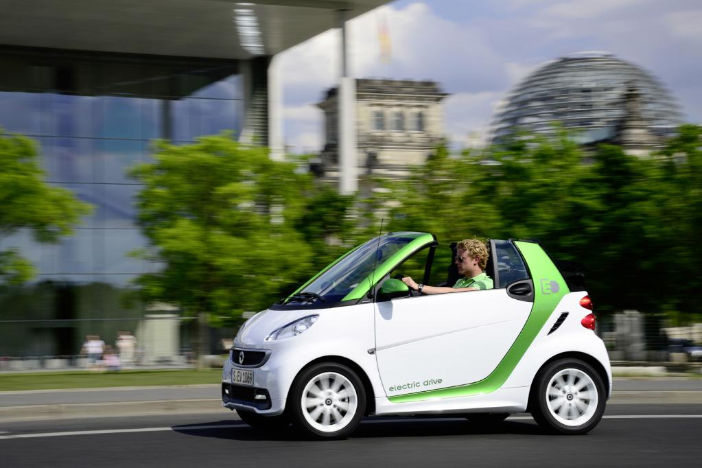 Daimler: Lange Lieferzeit beim E-Smart