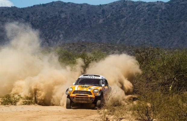 Dakar 2013: BMW und X-Raid dominieren die 10. Etappe