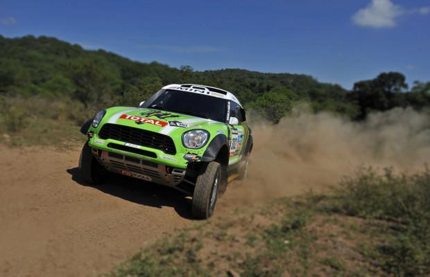 Dakar 2013: Peterhansel und Barreda vorne mit dabei