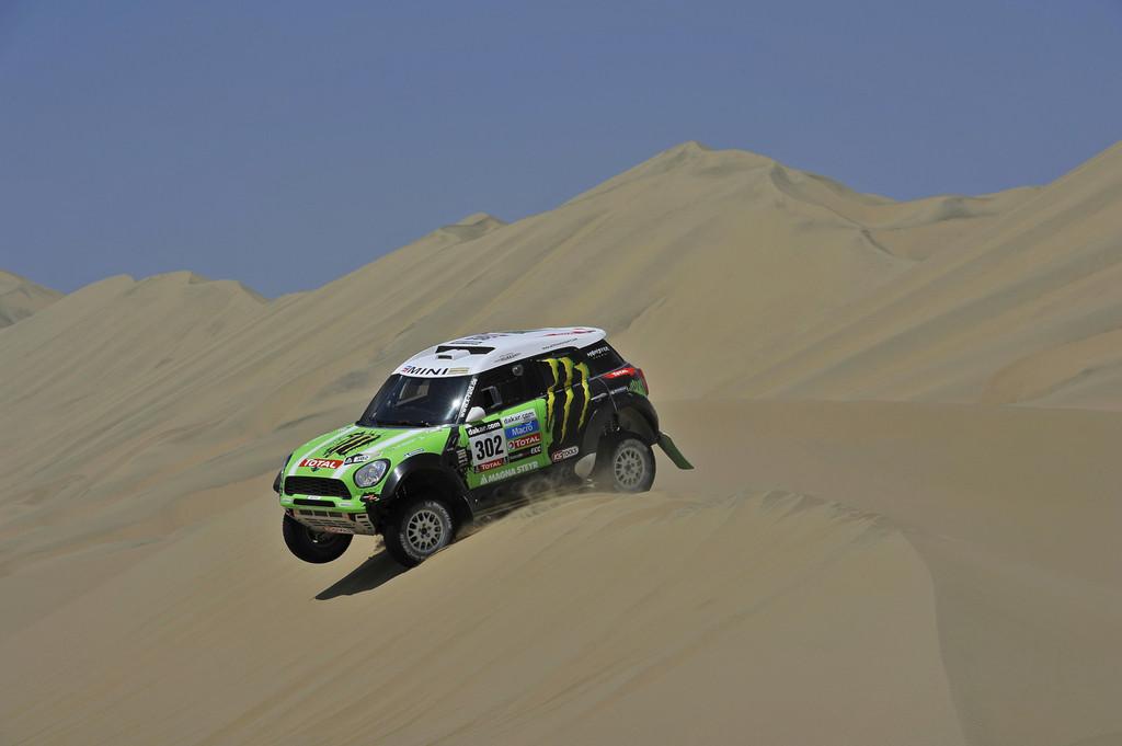 Dakar 2013: Zwei Führungswechsel