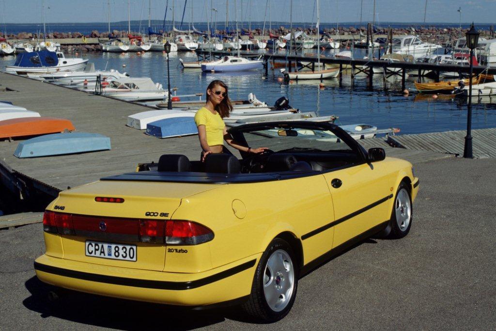 Das Saab 900 SE Cabrio von 1998