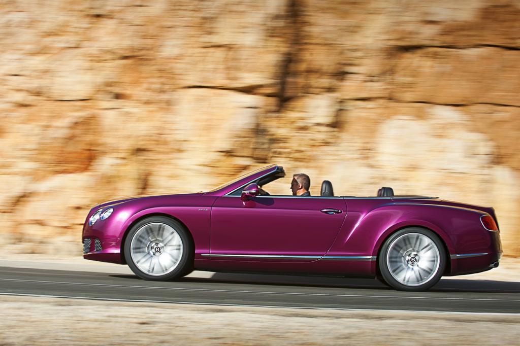 Das laut Hersteller schnellste Cabrio der Welt